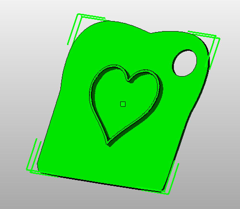 Herz Toaststempel